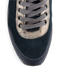 Lord & Taylor | Blue Devico Lace-up Sneakers | Lyst
