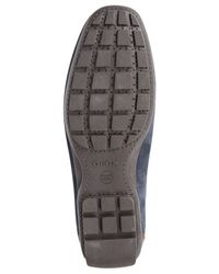 Geox - Blue Uomo Winter Monet 2 Fit Loafers for Men - Lyst