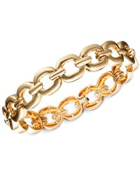 Nine West | Metallic Small Link Stretch Bracelet | Lyst
