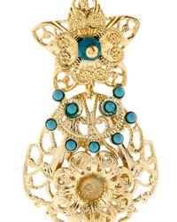 Isabel Marant | Metallic San Pedro Ornate Drop Earrings | Lyst