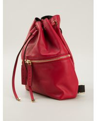 Marni - Red Drawstring Back Pack - Lyst