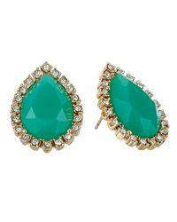 kate spade new york | Green Balloon Bouquet Statement Studs Earrings | Lyst
