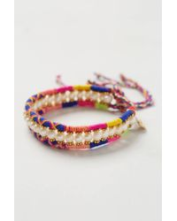 Anthropologie | Multicolor Wonders Bracelet | Lyst