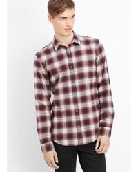 Vince | Melrose Engineered Plaid Button Up for Men | Lyst