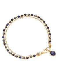 Astley Clarke | Blue Set Of Three Bracelets | Lyst