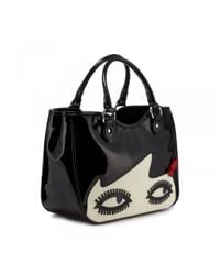 Lulu Guinness - Black Doll Face Small Wanda - Lyst