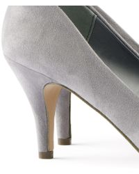 H&M - Gray Court Shoes - Lyst