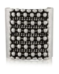 DANNIJO | Metallic - Hero Oxidized Silver-plated Cuff | Lyst