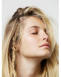 Free People - Metallic Metal Droplet Bobby Pins - Lyst