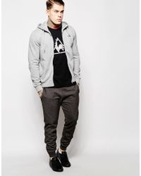 Le Coq Sportif | Gray Hoodie for Men | Lyst