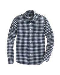 J.Crew | Blue Slim Secret Wash Shirt in Chatham Bay Plaid for Men | Lyst