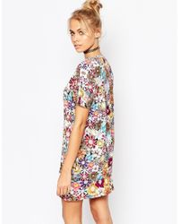 Jaded London | Multicolor Colored Brooch T-shirt | Lyst