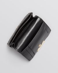 Burberry - Black Card Case Lannister - Lyst