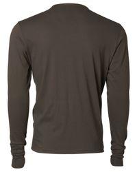 47 Brand - Brown Men's Long-sleeve New Jersey Devils Flanker T-shirt for Men - Lyst