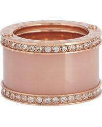 Michael Kors | Pink Glitz Ring | Lyst