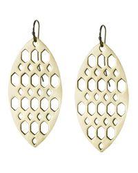 Asha   Metallic Isadora Earrings   Lyst