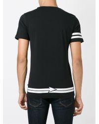 Philipp Plein - Black 'rebellion' T-shirt for Men - Lyst