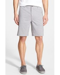 Rip Curl | Gray 'line Up' Hybrid Shorts for Men | Lyst