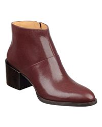 Nine West - Brown Entity Pointed Toe Booties - Lyst