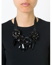 P.A.R.O.S.H. | Black 'pinne' Necklace | Lyst