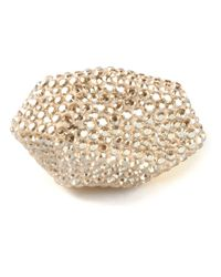 Atelier Swarovski | Metallic 'Pointiage Regent' Facet Ring | Lyst
