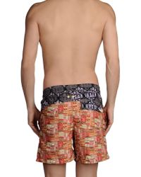 Maaji - Orange Swimming Trunk for Men - Lyst