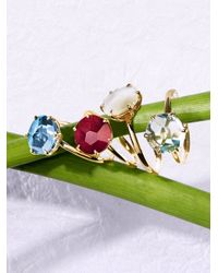 Ippolita | Metallic Rock Candy Blue Topaz & 18k Yellow Gold Ring | Lyst