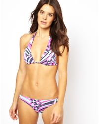 Pistol Panties | Purple Molly Aztec Glass Cerise Bikini Set | Lyst