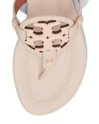 Tory Burch - Pink Miller Leather Sandals - Lyst