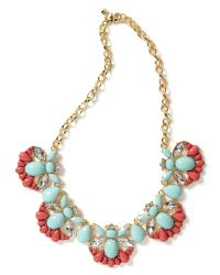 Banana Republic - Multicolor Shimmer Chic Statement Necklace  - Lyst