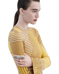 Acne | Metallic Marieuse Silver Mix | Lyst
