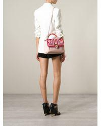 Paula Cademartori - Multicolor Petite Faye Leather Shoulder Bag - Lyst