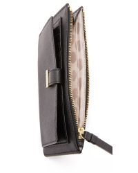 kate spade new york | Black Karolina Money Wristlet | Lyst