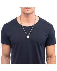 Lulu Frost | Metallic 'the World Is Yours' Revolving Necklace for Men | Lyst