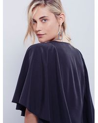 Free People | Black She's Something Mini | Lyst