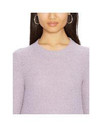 Ralph Lauren - Purple Elbow-patch Sweater - Lyst