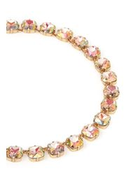 J.Crew - Multicolor Faceted Cone Necklace - Lyst
