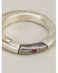 Rosa Maria   Metallic 'cosrudia' Ring   Lyst