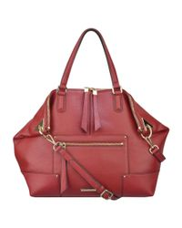 Nine West | Purple Janna Leather Tote | Lyst