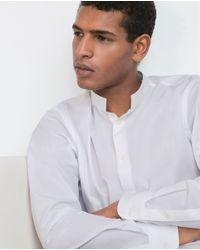 Zara | White Poplin Shirt for Men | Lyst