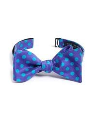 Ted Baker - Blue 'satin Doll Dot' Silk Bow Tie for Men - Lyst