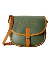 Dooney & Bourke | Green Claremont Field Bag | Lyst