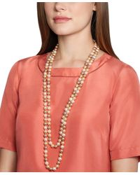 Brooks Brothers | Pink Tonal Pearl Necklace | Lyst