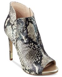 Guess | Multicolor Adara Peep Toe Platform Shooties | Lyst