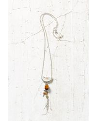 Urban Outfitters | Metallic Changing Tides Pendant Necklace | Lyst