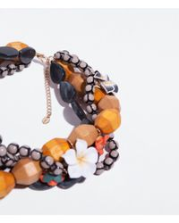 Zara | Multicolor Wooden Beads Necklace | Lyst