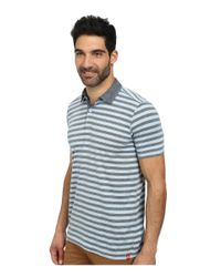 Agave - Blue Sultans Short Sleeve Polo for Men - Lyst