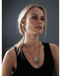 Jenny Bird | Metallic August Moon Necklace | Lyst