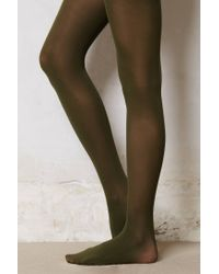Anthropologie - Green Colour Palette Tights - Lyst