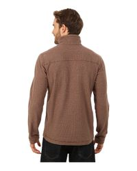 Patagonia - Brown Oakes 1/4 Zip Pullover for Men - Lyst